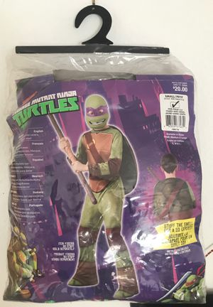 Kids costume / Donatello / Mask & Jumpsuit for Sale in Fresno, CA