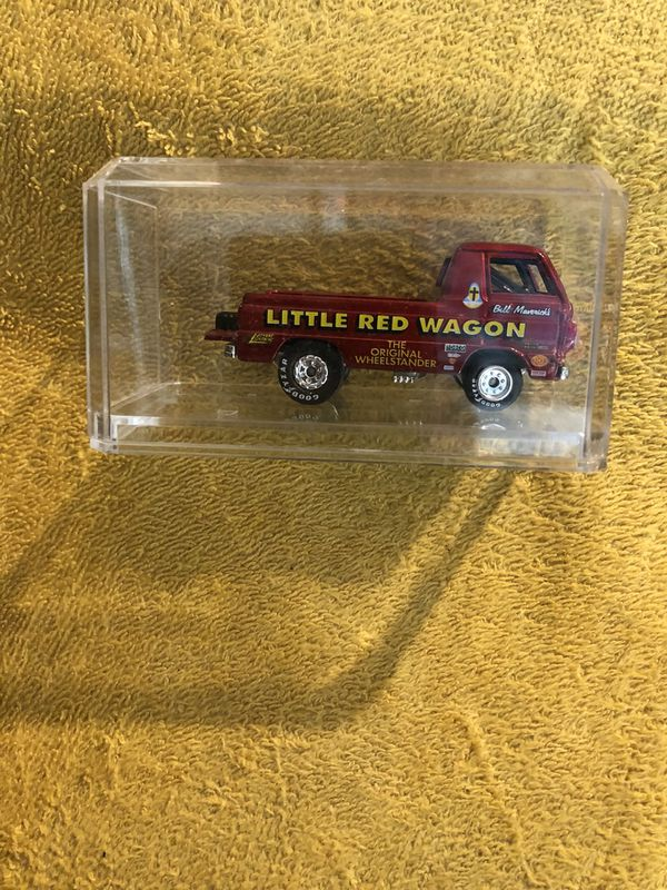 Johnny Lightning Little Red Wagon 1/64 Scale Diecast