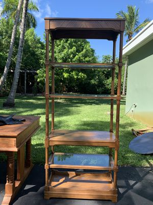 6ft wooden shelf for Sale in South Miami, FL