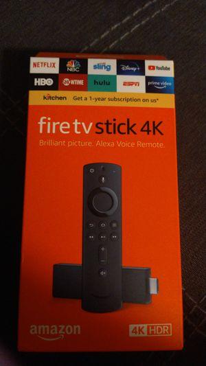 Fire tv stick 4k jailbroke for Sale in Virginia Beach, VA