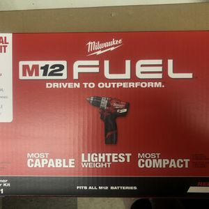 M-12 Fuel 1/2 Hammer Drill/Driver Kit 2504-21 for Sale in Milwaukie, OR