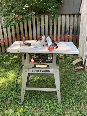 Craftsman Table Saw for Sale in Highland Beach, MD