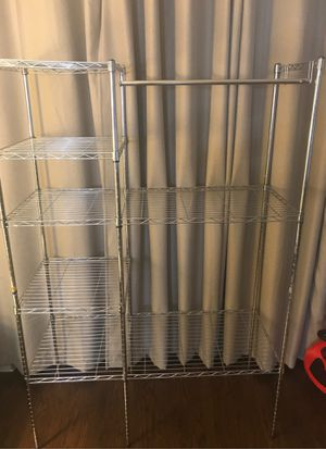 Adjustable Wired Metal Shelving / Clothes Shelf / Storage Rack for Sale in Coral Springs, FL