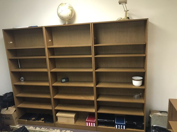 Hale luxury wooden book case collection