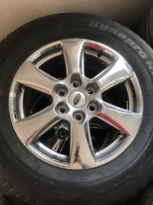 F150 rims and tires for Sale in Bloomington, CA