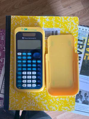 TI-34 MultiView from Texas Instruments high school calculator for Sale in York, PA