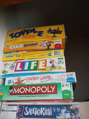 6 kids games for Sale in Akron, OH