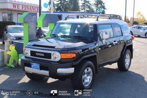 2007 Toyota Fj Cruiser for Sale in Everett, WA
