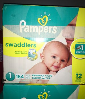 Pampers swaddlers size #1!! for Sale in Jonesboro, GA