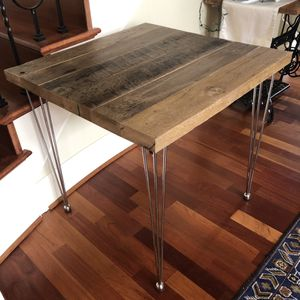 Breakfast table, handmade from reclaimed wood for Sale in Portland, OR
