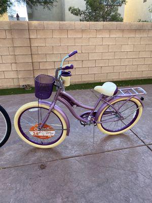 New purple beach cruiser bike bicycle for Sale in Las Vegas, NV