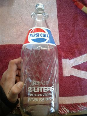 Pepsi 2 liter glass bottle for Sale in Cayce, SC