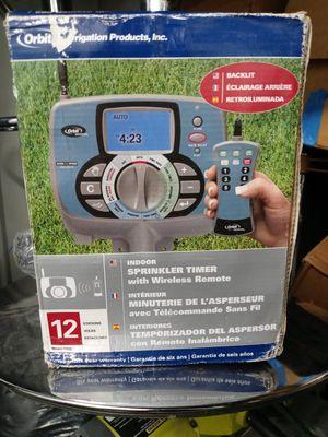 Orbit indoor sprinkler timer with wireless remote for Sale in Playa del Rey, CA