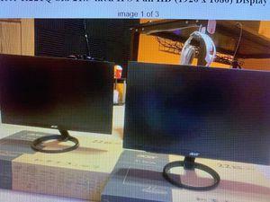 Acer 21.5 inch monitor for Sale in Wapakoneta, OH