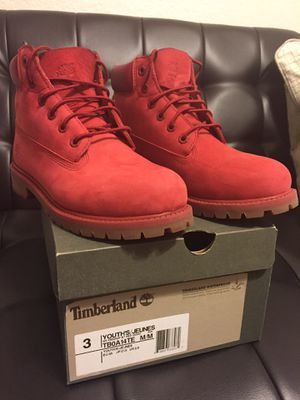 Timberland Boots, size 3 youth for Sale in West Palm Beach, FL