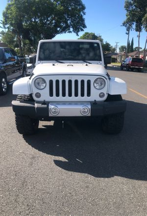 2014 Jeep Wrangler Sahara Unlimited 4x4 for Sale in Lynwood, CA