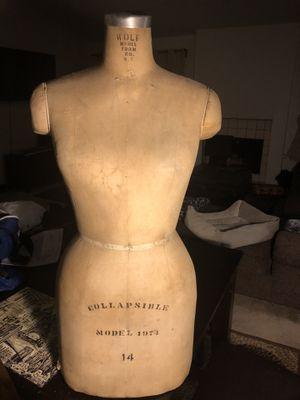 Vintage Wolf Dress Form for Sale in Fallbrook, CA