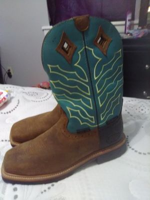 Justin Boots steel toed waterproof size 10 1/2 for Sale in North Little Rock, AR