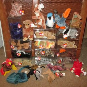 Ty Beanie Babies Lot Of 23 for Sale in Pompano Beach, FL