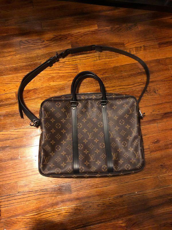 Louis Vuitton computed bag