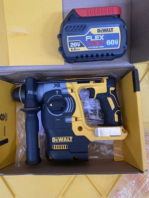 SDS ROTARY HAMMER AND BATTERY 6.0 for Sale in Fairfield, CA