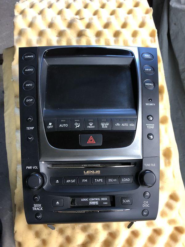 Screen Display Radio Part# 86120-30L70 Fits 2010 - 2011 Lexus GS350 OEM