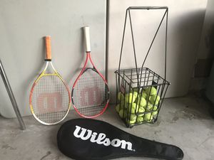 Tennis racket stuff for Sale in Mission Viejo, CA