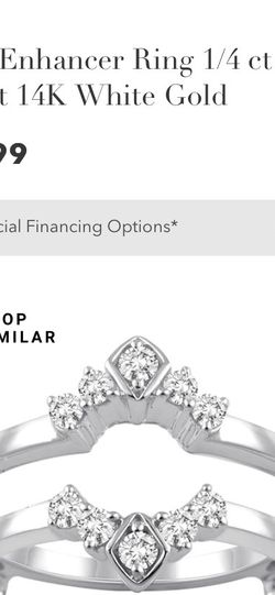White Gold And Diamond Wedding Ring Wrap for Sale in Sunnyvale,  CA