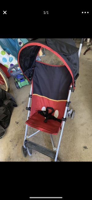 Mickey Mouse stroller for Sale in Woodlake, CA
