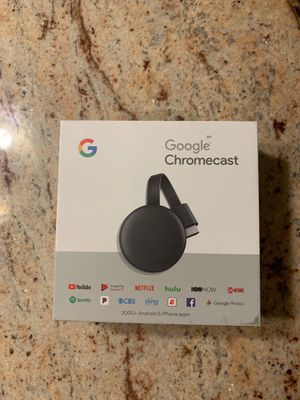 Chromecast for TVs for Sale in Great Neck, NY