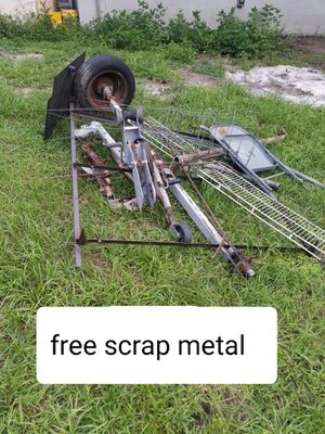 Free scrap metal for Sale in Apopka, FL