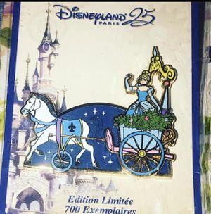 Disney Cinderella Parade Pin Limited LE Disneyland Paris DLP 25th Princess for Sale in Glendale, AZ