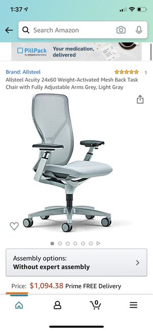 Allsteel acuity desk chair for Sale in San Francisco, CA