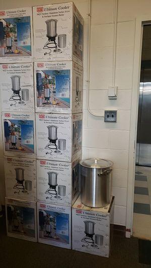 New 30qt aluminum pots for Sale in Ithaca, NY