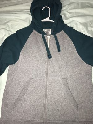 Grey And Blue Champion Jacket Hoodie for Sale in San Diego, CA