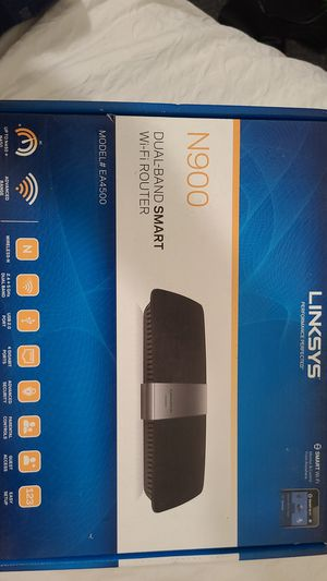 Linksys Ea4500 dual band smart wifi router for Sale in Oakland, CA