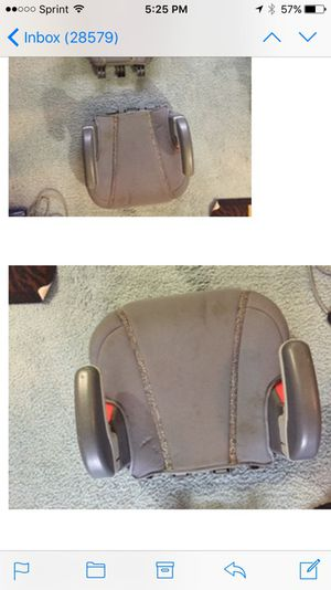 Gray Booster seat for Sale in Queens, NY