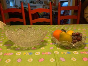 Antique cut glass bowls 75-100 years old for Sale in Pawtucket, RI