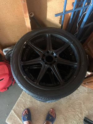 Selling 4 tires plus rims for Sale in INVER GROVE, MN