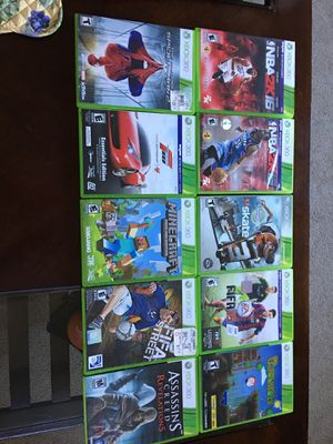 Xbox 360 games for Sale in Milford, MA