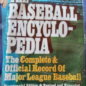 1976 Baseball Encyclopedia for Sale in Fairfield, CT
