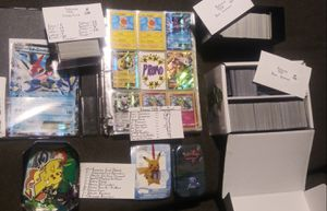 Huge Pokemon Collection! for Sale in Wilmington, NC