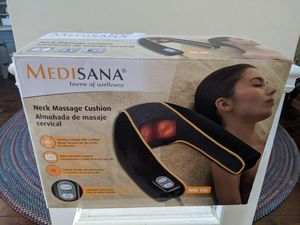 MEDISANA neck massager with heat for Sale in Greer, SC