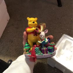 Pooh And Piglet season of songs stocking holder for Sale in Magna,  UT