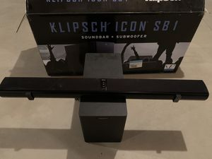 Klipsch Icon SB1 Soundbar and Subwoofer for Sale in PA, US