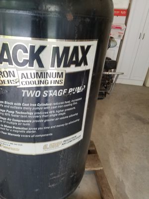 Black Max commercial air compressor for Sale in Spring Hill, FL