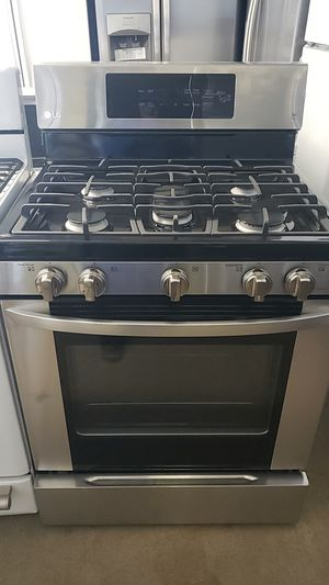 LG Stainless Steel STOVE for Sale in Fontana, CA
