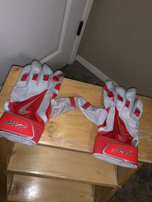 Red Nike baseball batting gloves for Sale in Turlock, CA