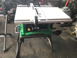 "Hitachi C10Fr 10"" jobsite table saw for Sale in Everett, WA"