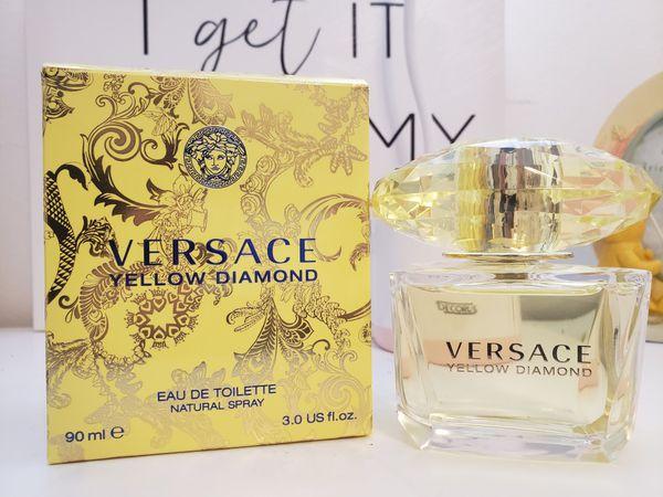 Versace perfume yellow diamond 3.oz